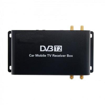 Цифровой ТВ-тюнер DVB-T2 с функцией медиапроигрывателя (до 120 км/ч)