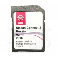 Nissan Connect 3 Россия 2018-2019